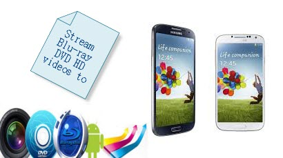 How to: Stream Blu-ray/DVD/HD movie file to Galaxy S4 for