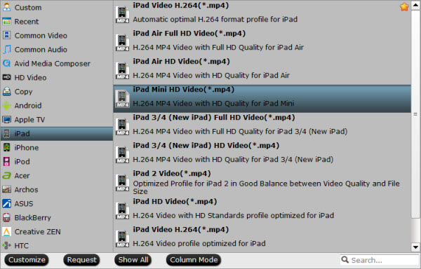 видео формат для Ipad Mini - фото 2