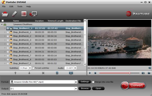 Fire HD 6 DVD ISO/IFO Ripper