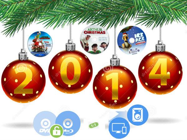 Backup 2014 Christmas Blu-ray and DVD Movies on PC/Mac