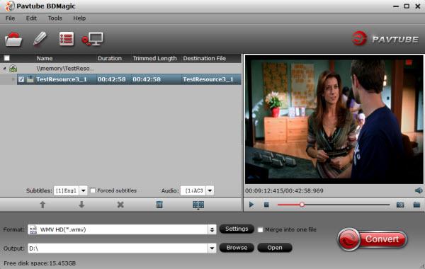 Blu-ray to WMM Converter