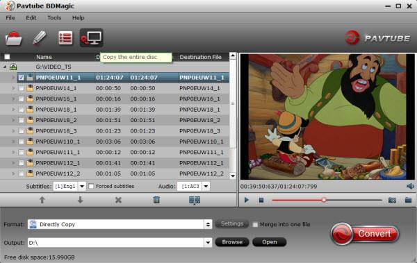 BD/DVD backup tool
