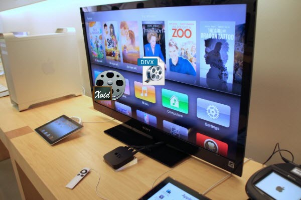 Stream XviD/Divx files to Apple TV