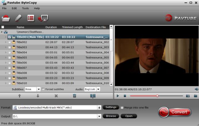 BD DVD ISO to Plex
