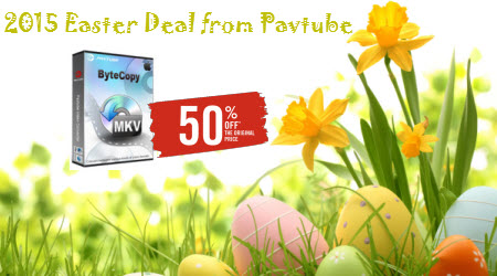 Rip a Blu-ray movie to HEVC/H.265 MP4 on Windows Easter-sale-2015