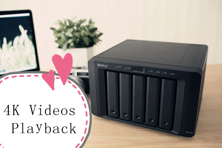 Can my Synology NAS transcode 4K videos for my device