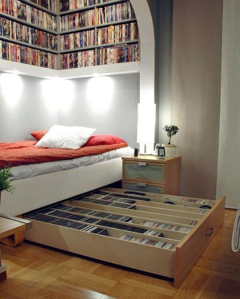 dvd bed