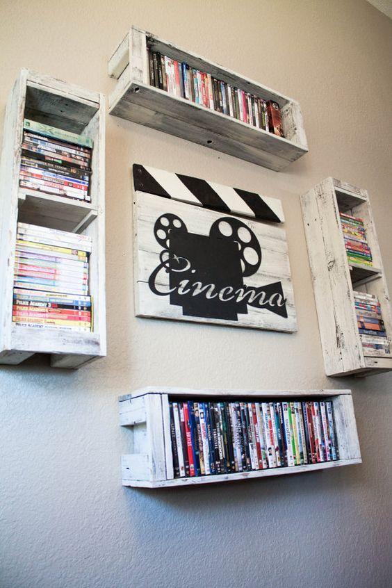 dvd wall