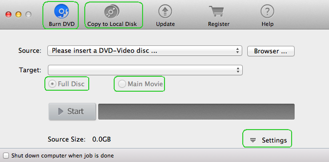Install and launch Magic Mac DVD Copier