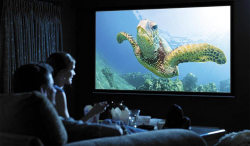 Home Cinema with Projector